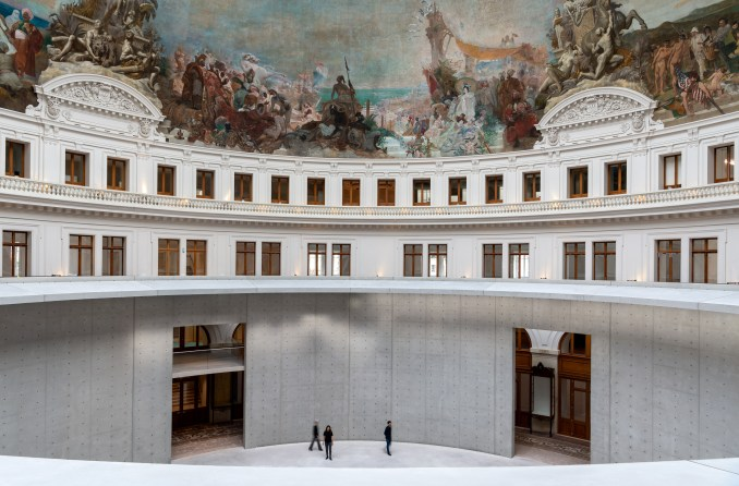 The Bourse de Commerce was restored by Tadao Ando