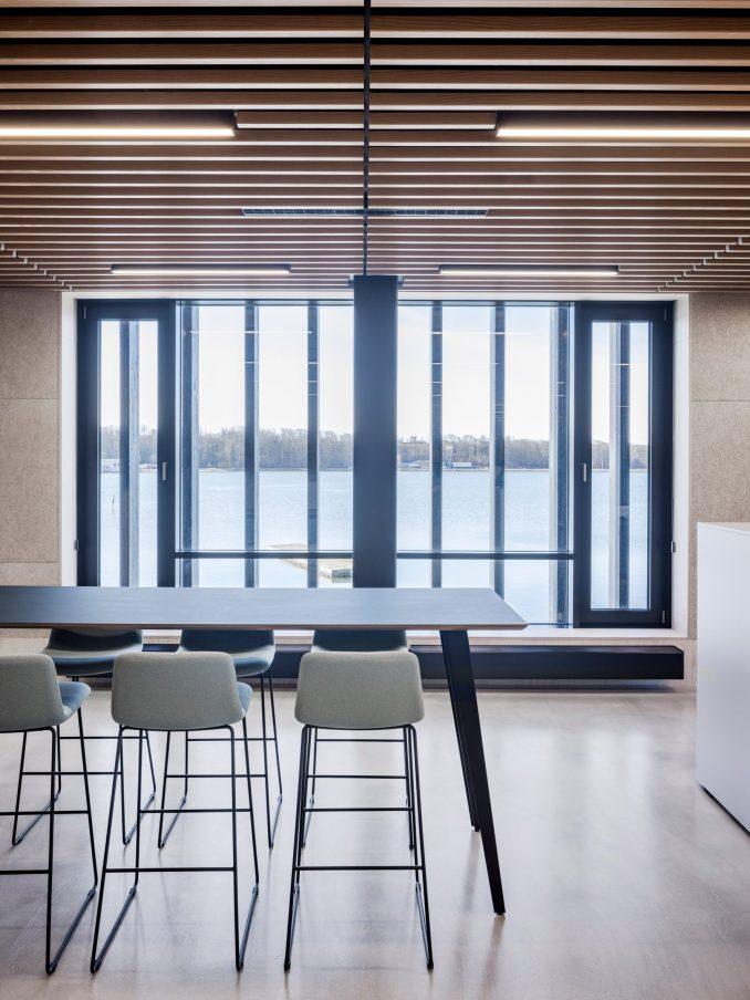 A workspace inside Klimatorium