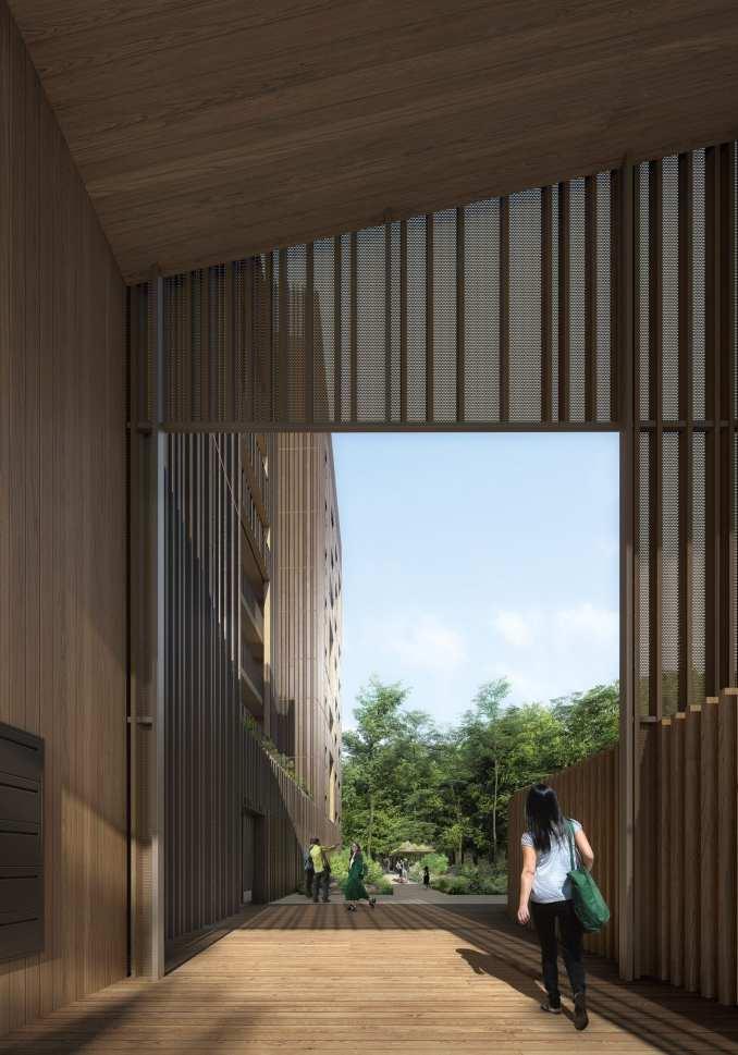 Lina Ghotmeh Adivbois building