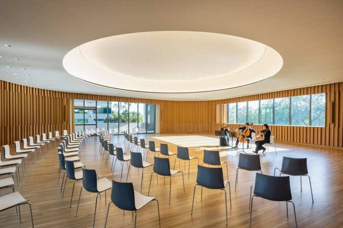 Weiss/Manfredi adds events space to a museum in Florida