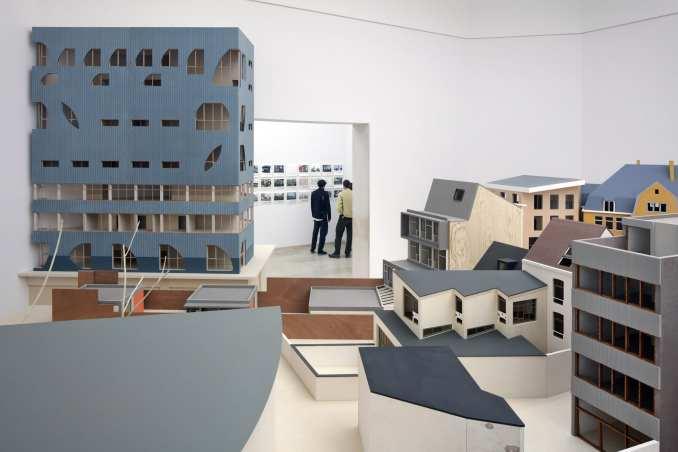 Building models of houses in Flanders
