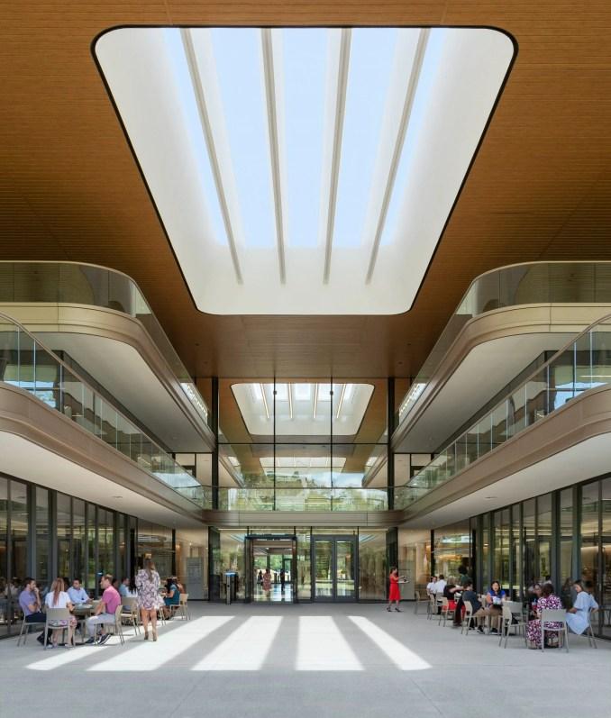 PGA Tour headquarters has a symmetrical design