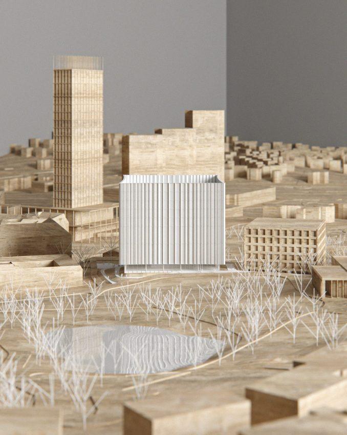 Cobe's design for the new Gothenburg University library