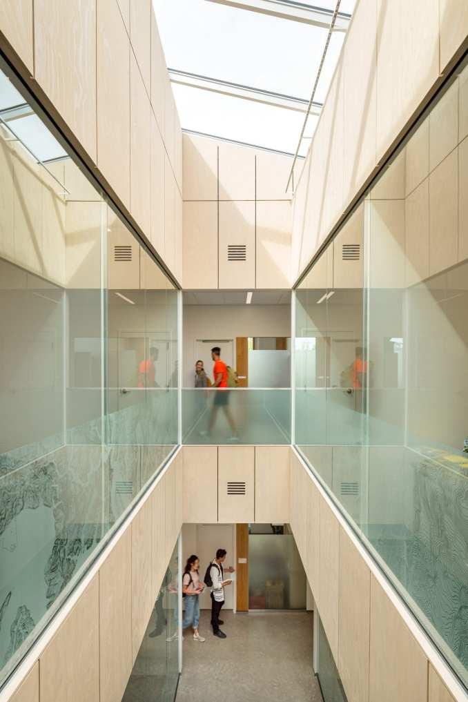 MGA designed to help the building endure an earthquake with minimal damage