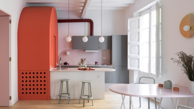 Apartment in Born in Barcelona, Spain, by Colombo and Serboli Architecture