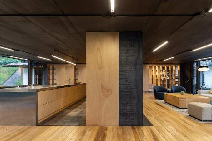 Multifunctional plywood unit