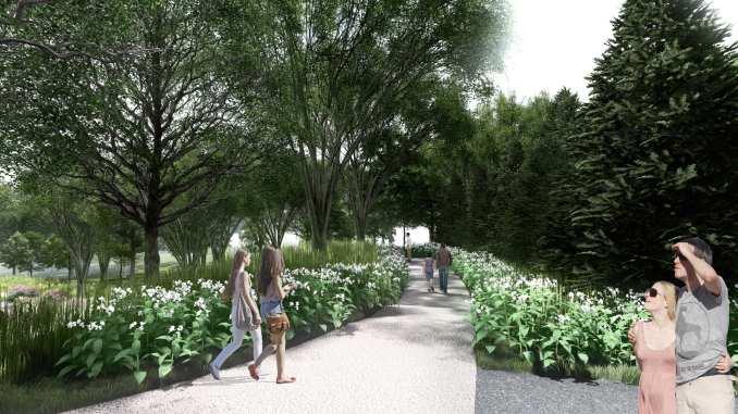 Gardens in Newtown