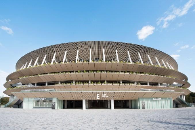 Kengo Kuma's Tokyo 2020 Olympic stadium
