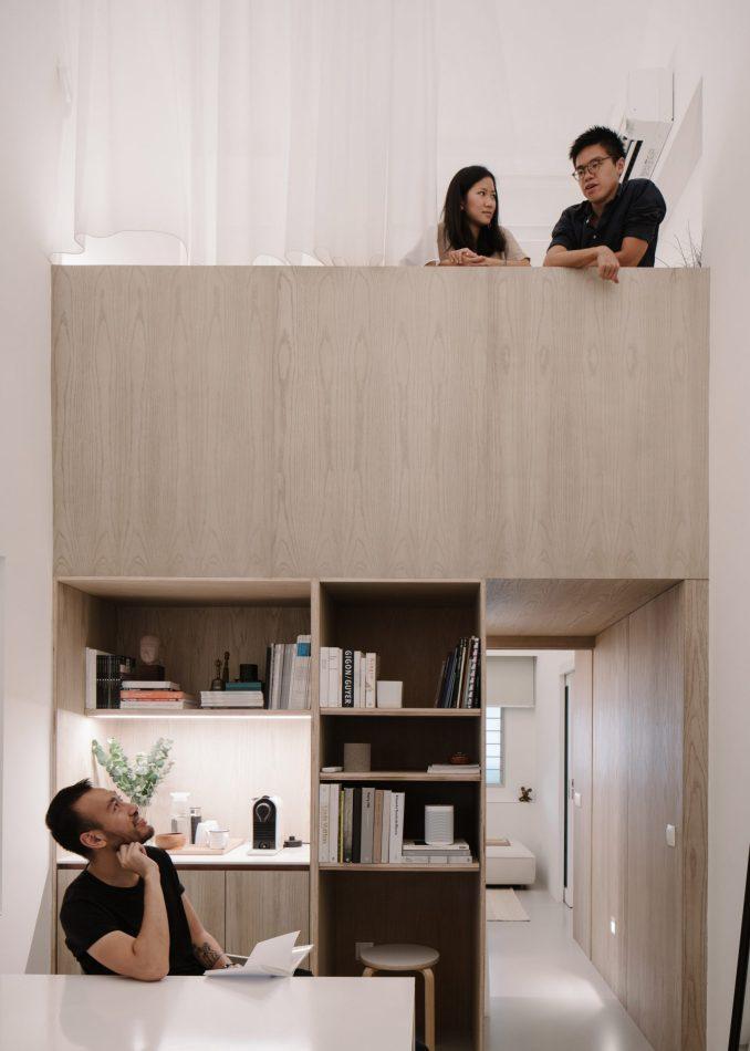 Mezzanine by Studio Wills + Architects