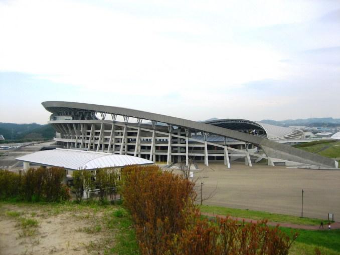 Miyagi Stadium by Shoichi Haryu and Hitoshi Abe