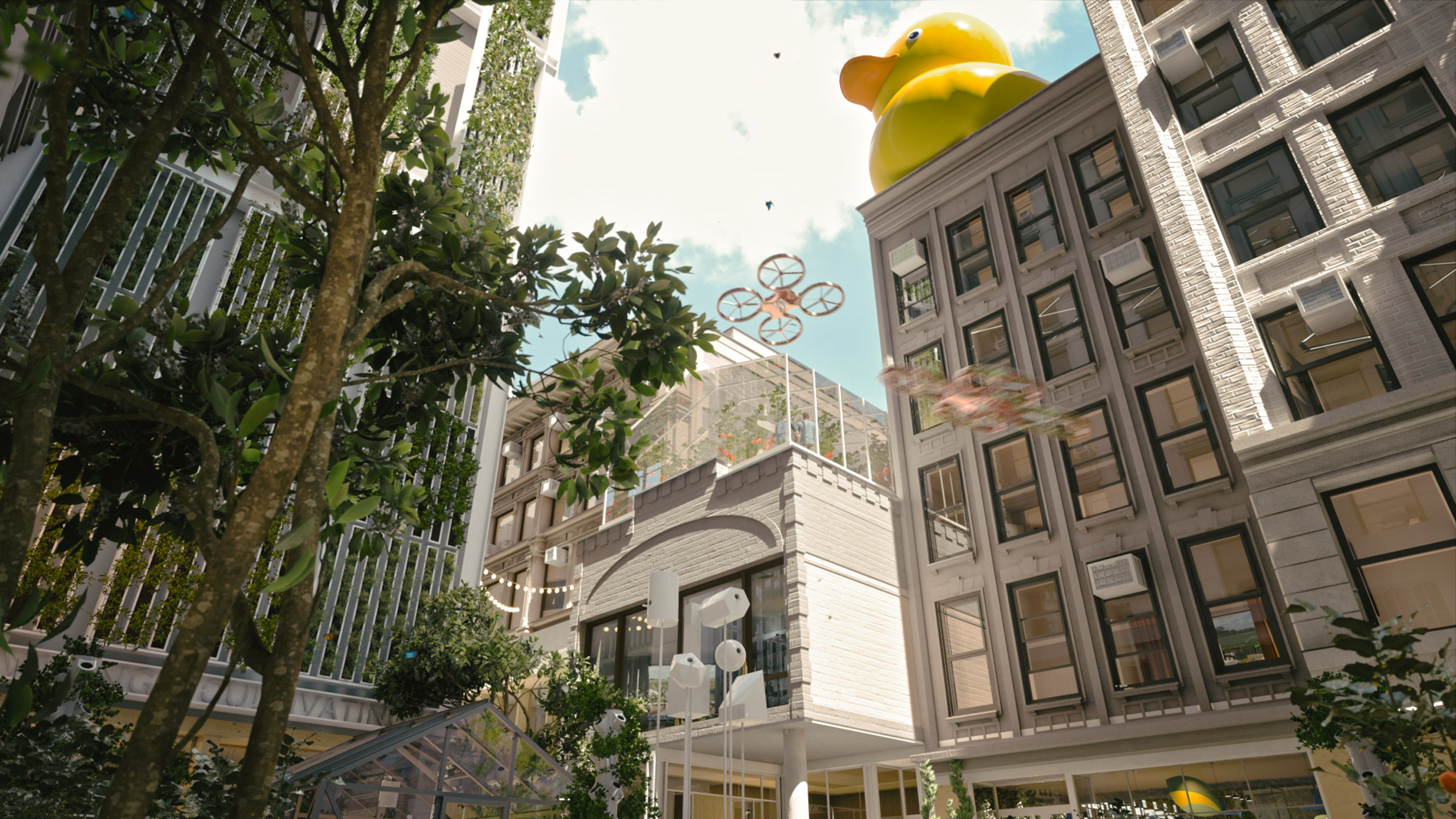 ODA proposal Beyond the Street for New York