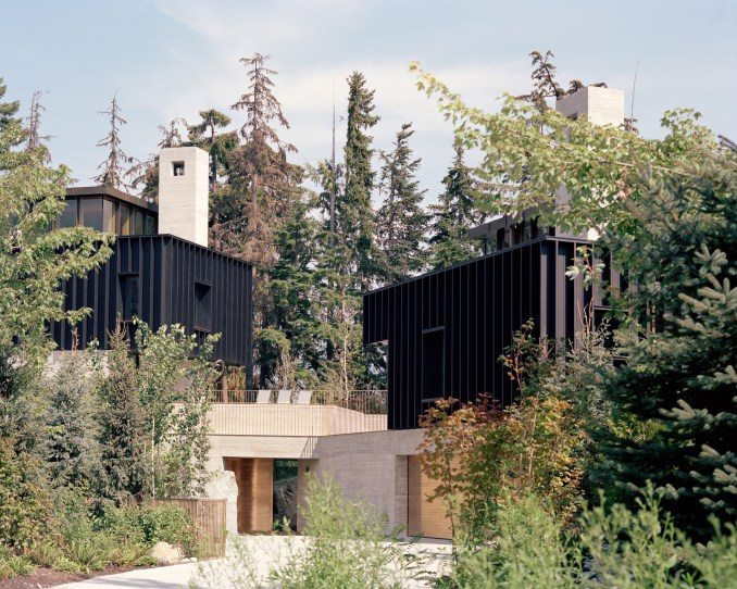Exterior, The Rock house in Whistler by Gort Scott