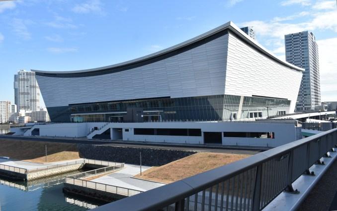 Ariake Arena by Kume Sekkei