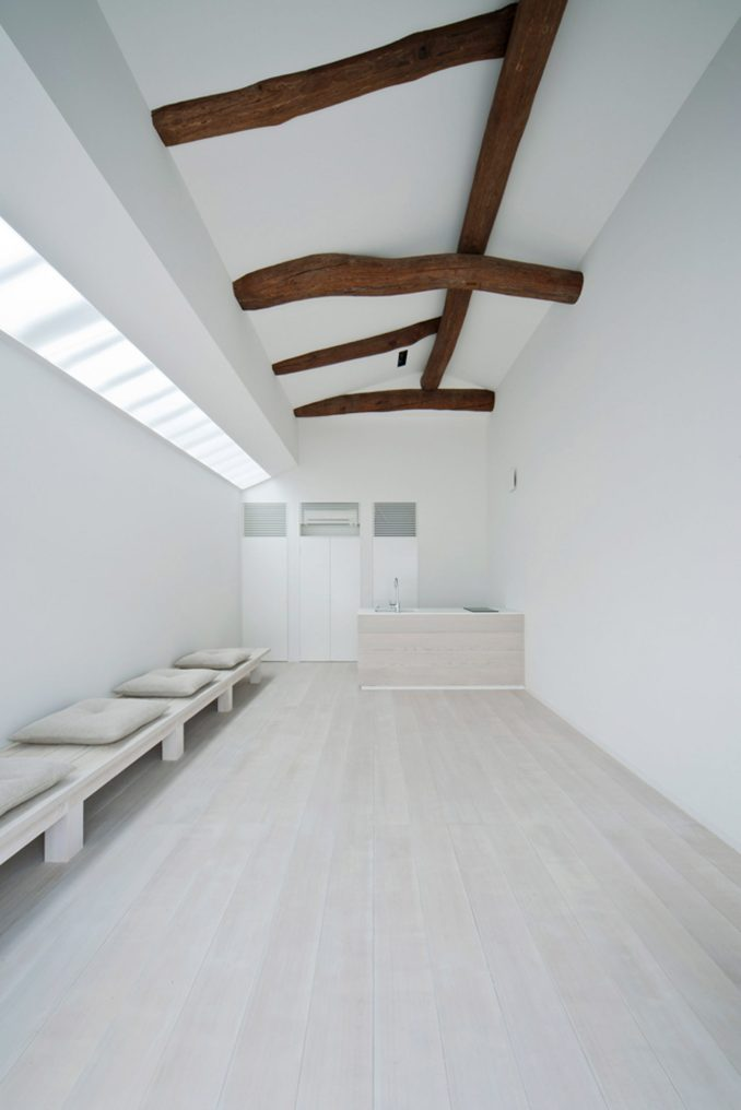White dormitory