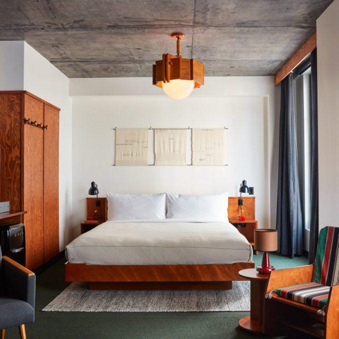 Guestroom at Ace Hotel Brooklyn