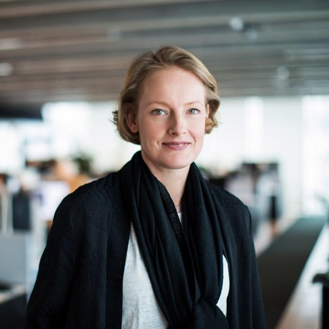 Portrait of Alexandra Hagen, CEO of White Arkitekter