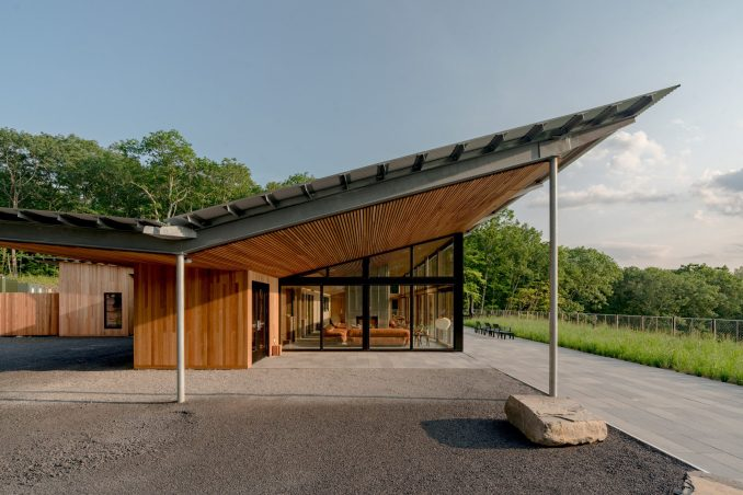 The resort is by Garrison Architects