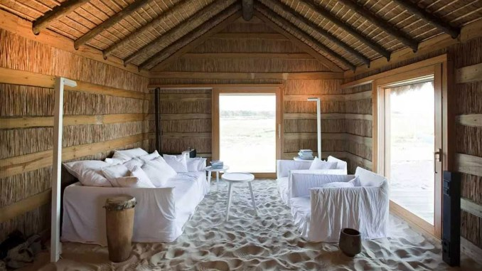 Casa Areiam, Portugal, by Aires Mateus Architects from rustic interiors lookbook