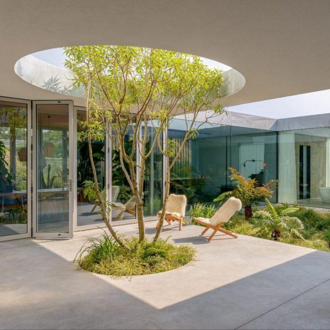 Villa Fifty-Fifty by Studioninedots