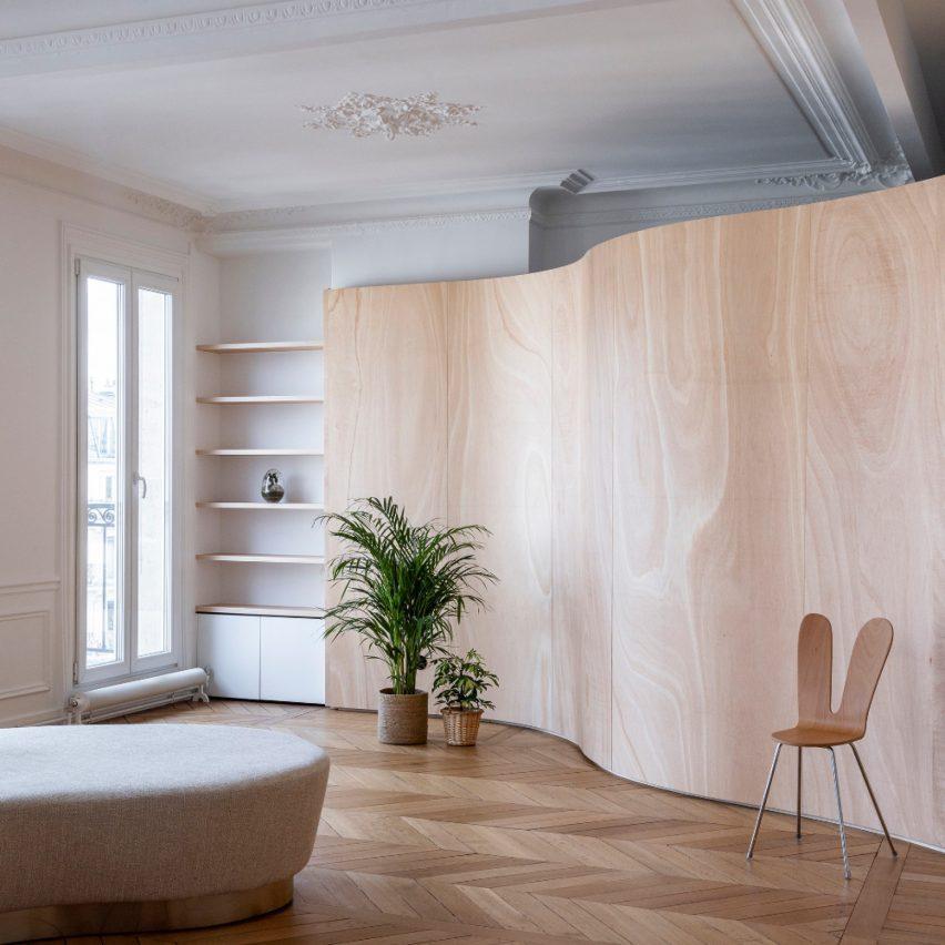 dezeen-awards-2021-shortlisted-wood-ribbon-apartment-in-paris
