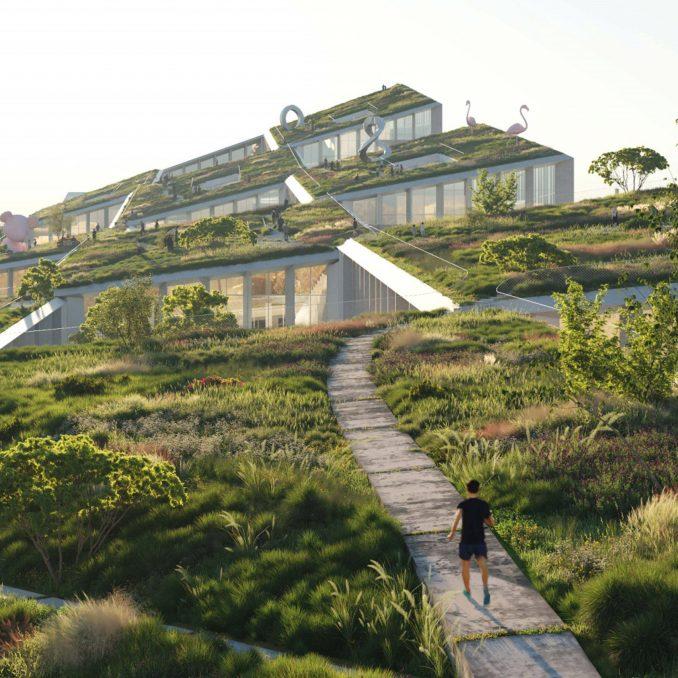 Fuse Valley has rooftop gardens