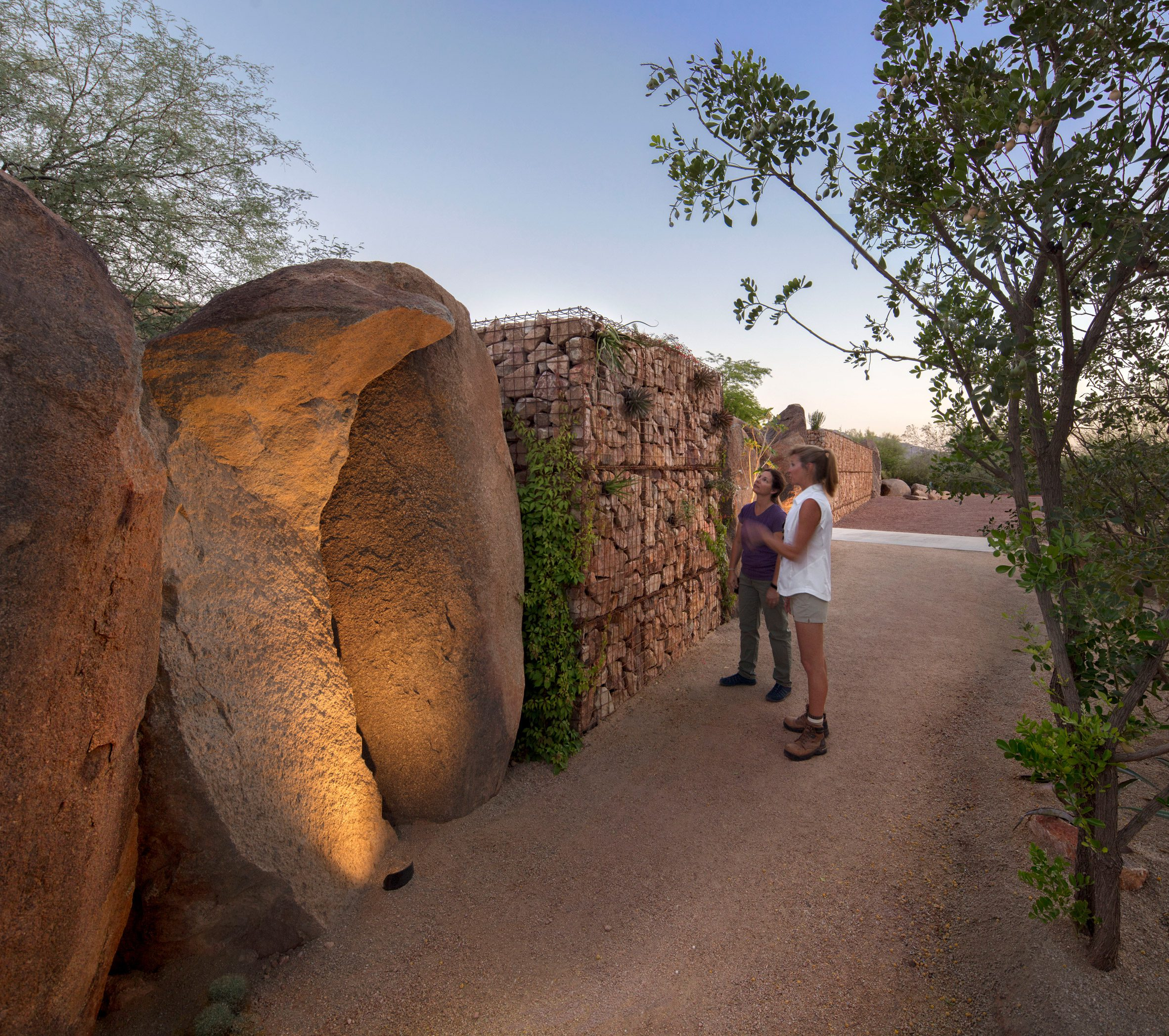 The Great Wall of Boulders