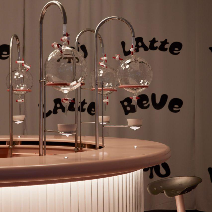 Korova Milk Bar by Lolita Gomez and Blanca Algarra Sanchez at Milan design week