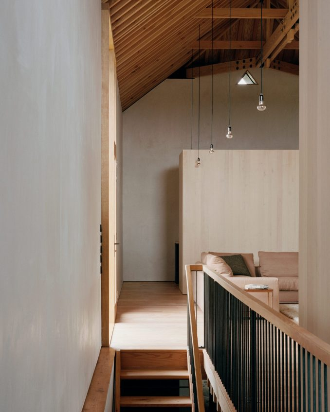 Living sauce in cabin conversion