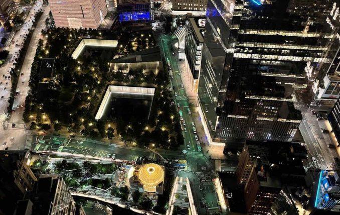 World Trade Center church by Santiago Calatrava