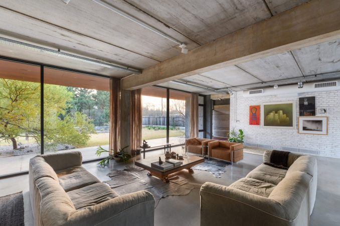 Square-shaped living space