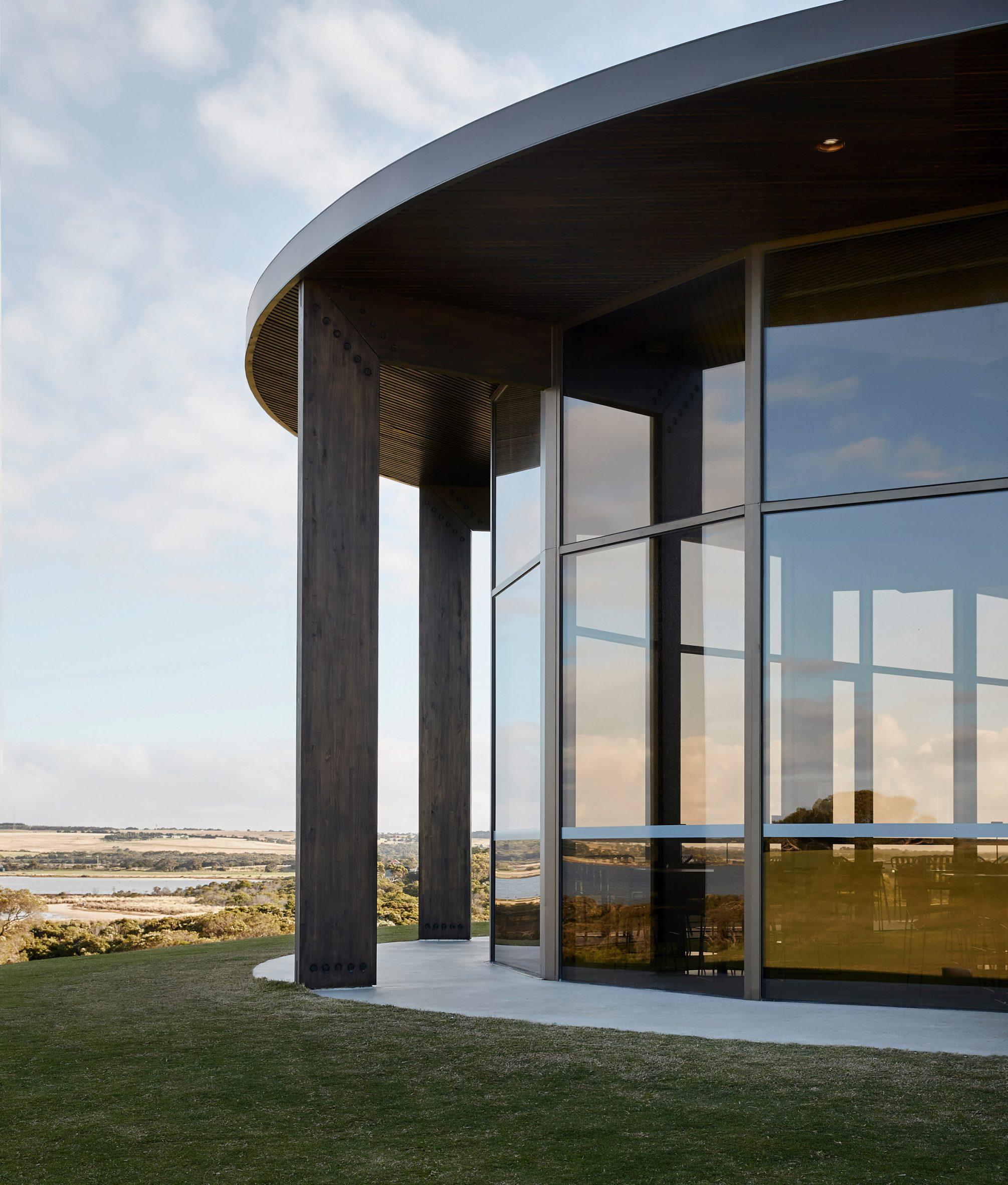 Lonsdale Links golf club has floor-to-ceiling windows