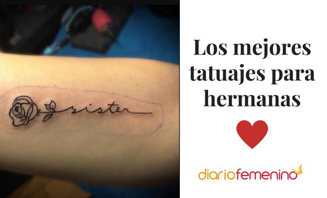 Los Mejores Tatuajes Para Hermanas