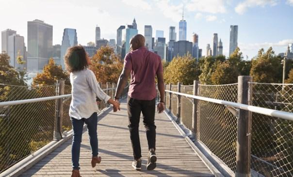 Un romántico paseo por la ciudad, lo mejor para San Valentín