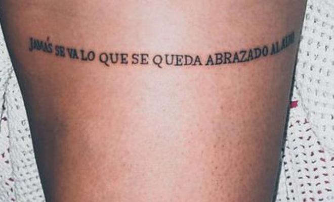 71 Frases Para Tatuarse En El Muslo Ideas Para Adornar Tu Piel