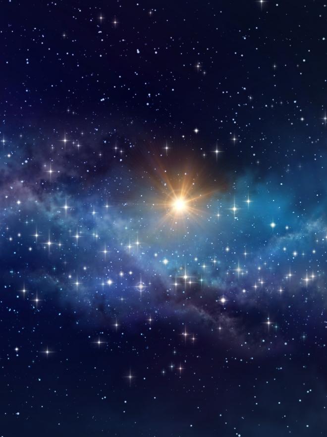 Soar con un cielo estrellado disfruta de tus sueos