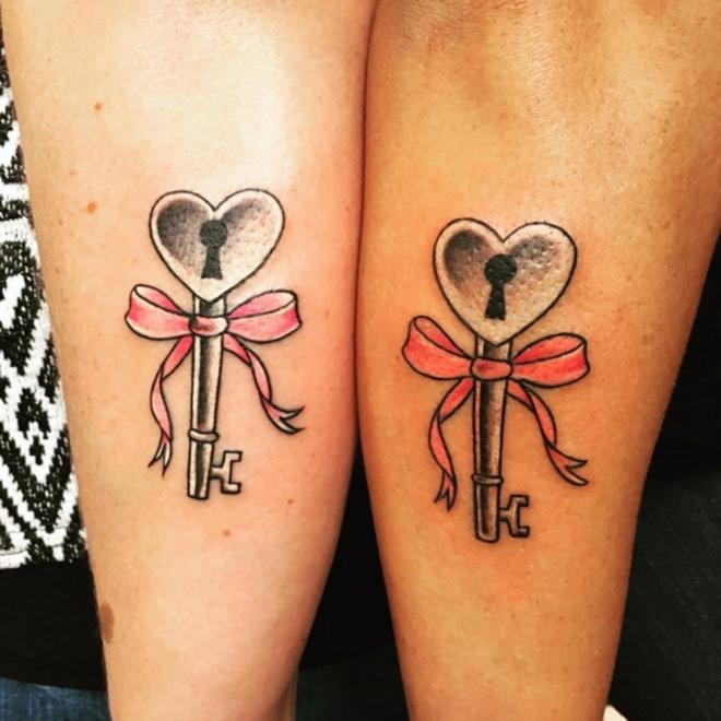 Tatuajes Bonitos Para Hermanas Inseparables Y Tatuadas