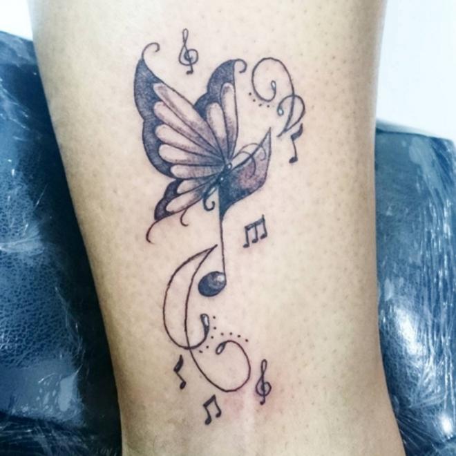Significado De Tatuajes Con Notas Musicales El Sentido De La Música