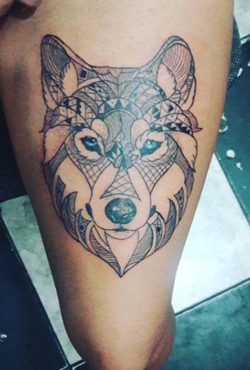 Tatuajes De Familia De 3 Lobos