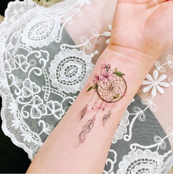 Atrapasueños Como Tatuaje Qué Significa