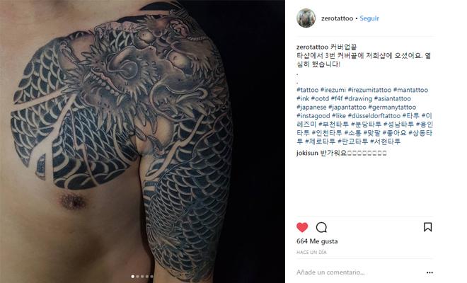 Tatuajes Para Hombres Estilo Tipografías Tamaños