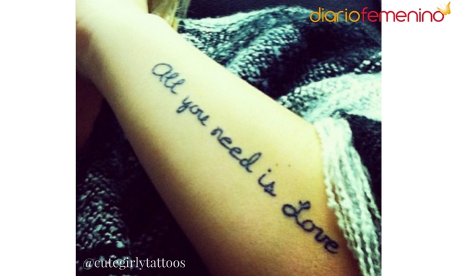 53 Bonitas Frases Cortas Para Tatuajes En Español Inglés Y Francés