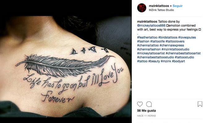 El Significado De Los Tatuajes De Plumas