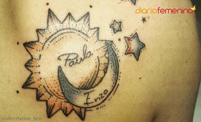 Tatuaje De Sol Y Luna Conoce Su Significado