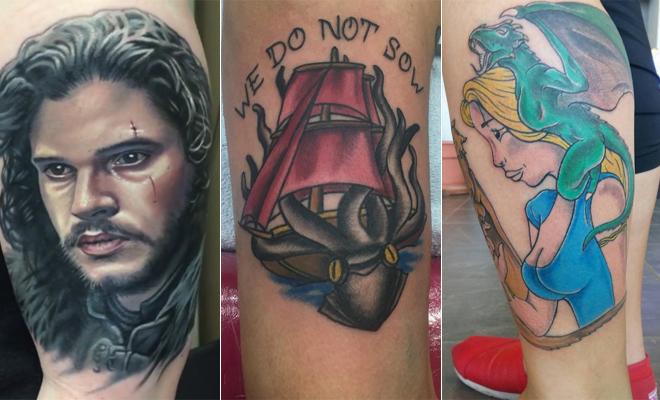 Juego De Tronos Hasta En La Piel Los Mejores Tatuajes Basados En La