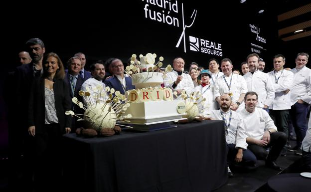 A selection of Euskadi in the World Cup in Madrid Fusion