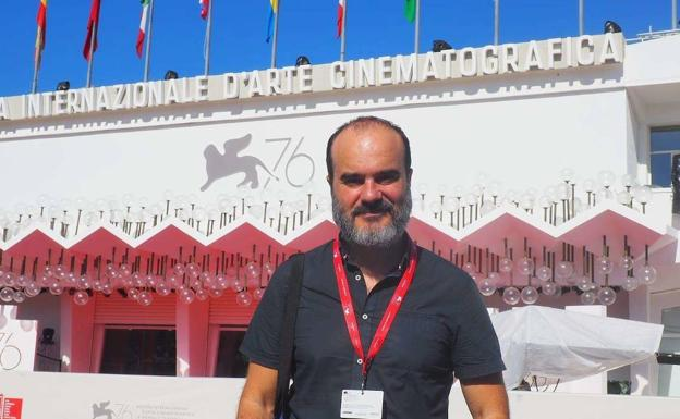 Oskar Alegria garnered a great ovation at the latest edition of the Venice Film Festival on the occasion of the premiere of his latest film, 'Zumiriki'.