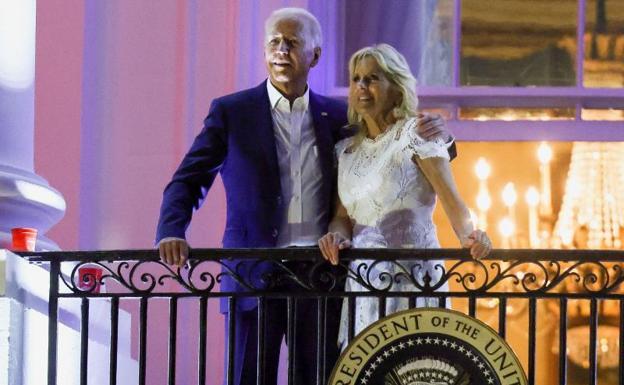 Joe Biden and First Lady Jill Biden