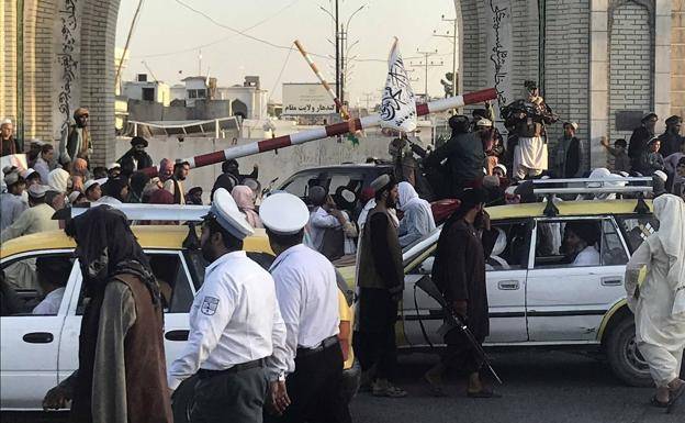 Rebel control in Kandahar.