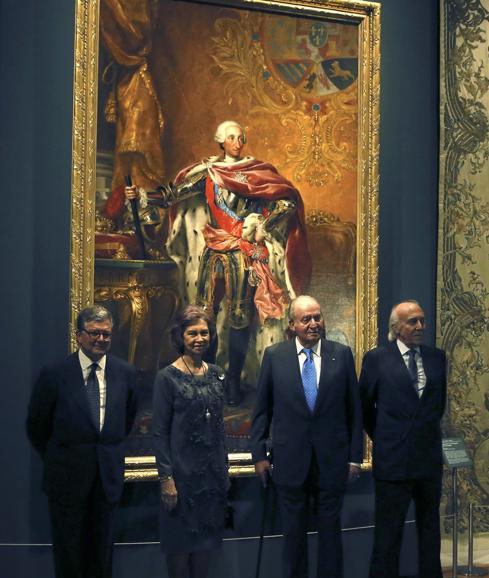 Resultado de imagen para Fotos de Carlos III inaugura el Palacio Real