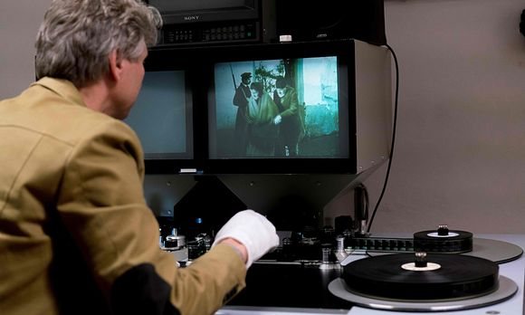 ''Stadt ohne Juden'' im Filmarchiv in Wien / Bild: (c) APA/AFP (JOE KLAMAR)